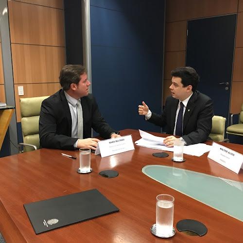 Em audiência com Walter Alves, ministro do Turismo garante liberação de recursos para obra do Centro de Convenções de Natal