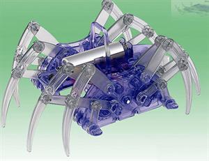 Spider Robot - Robot Mainan Anak, Keren, Kompleks Bisa Kamu Buat Sendiri