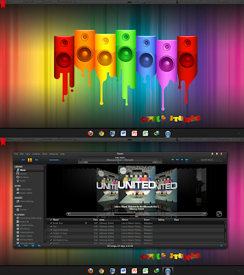 Night Lion v2.0 PLUS!! Windows 7 themes