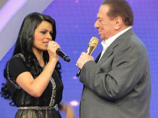 Damares e Raul Gil
