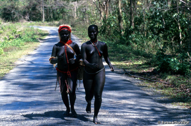 Naked African Tribal Men http://kwekudee-tripdownmemorylane.blogspot.com/2012/10/andamanese-tribe-one-of-earliest.html
