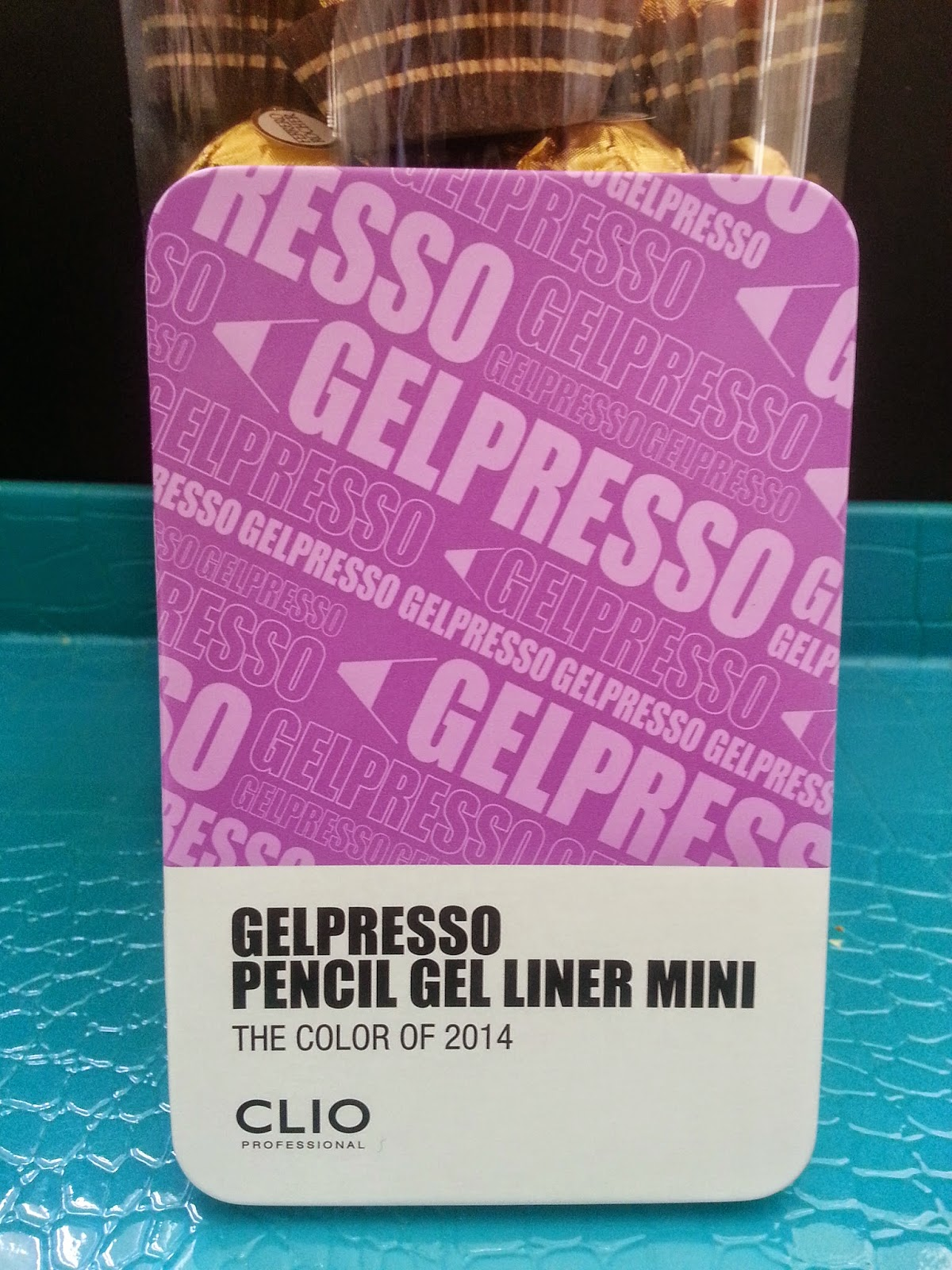 Clio Gelpresso Pencil Gel Liner Mini