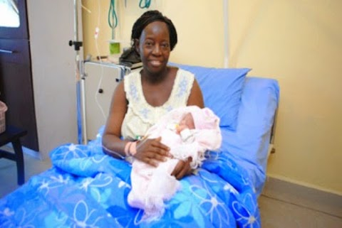 Miracle ! 60-year old Nigerian woman gives birth through IVF