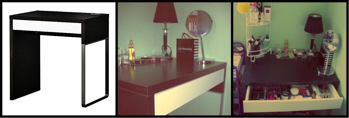little miss justine mon rangement maquillage. Black Bedroom Furniture Sets. Home Design Ideas