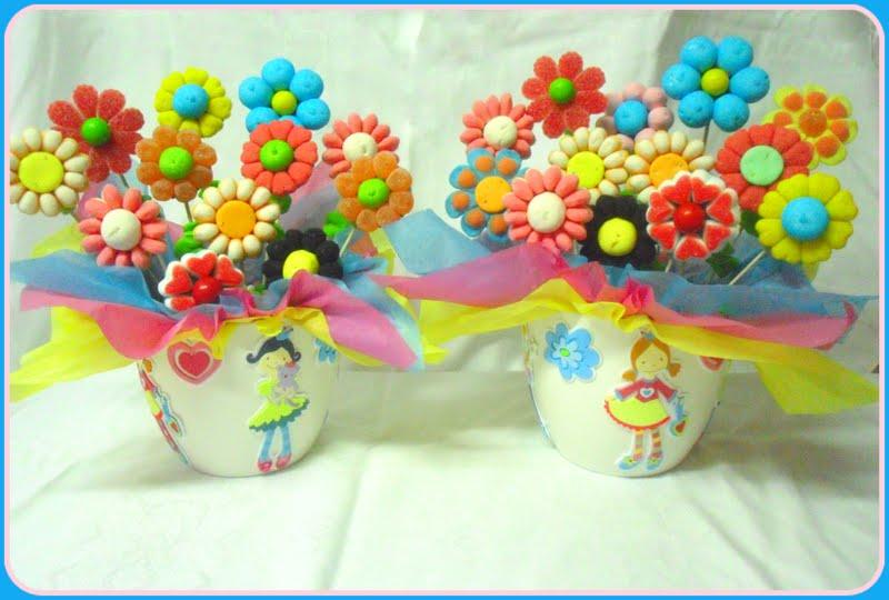 Que Decorar Tu Fiesta Infantil Con Estas Macetas De Flores Dulces