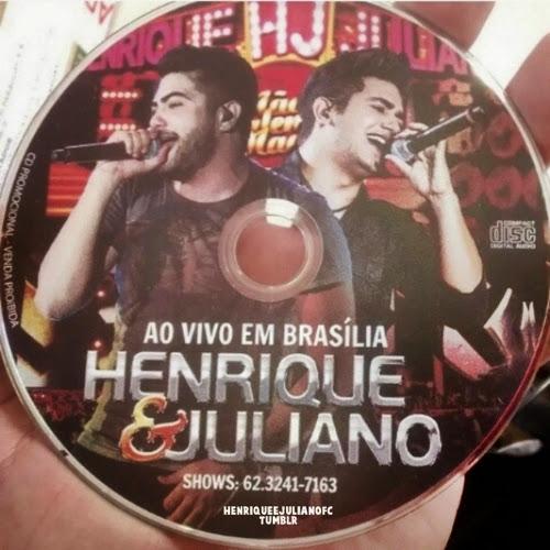 Baixar CD Henrique e Juliano - Ao Vivo Em Brasilia (Lançamento 2014)