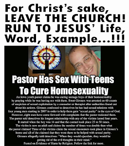 For Christ's Sake, Leave CHURCH...