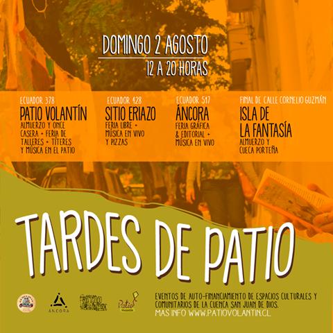 VALPARAISO: TARDES DE PATIO