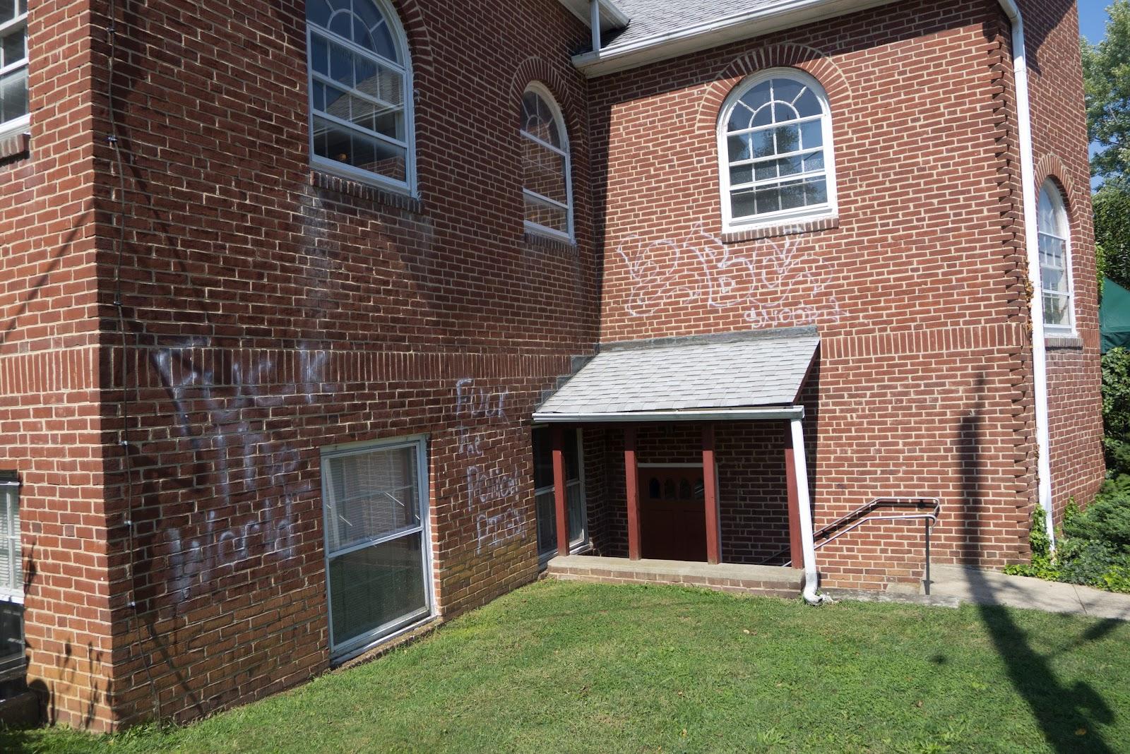 Delaware anti graffiti brigades community fellowship church brookland terrace