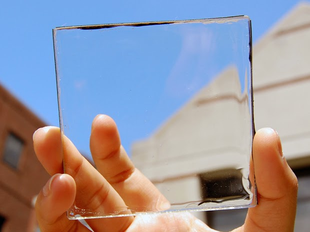 Transparent solar (Credit: Yimu Zhao) Click to enlarge.