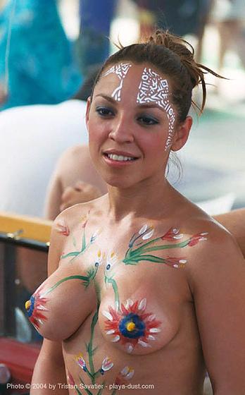 Aktmodell naked show