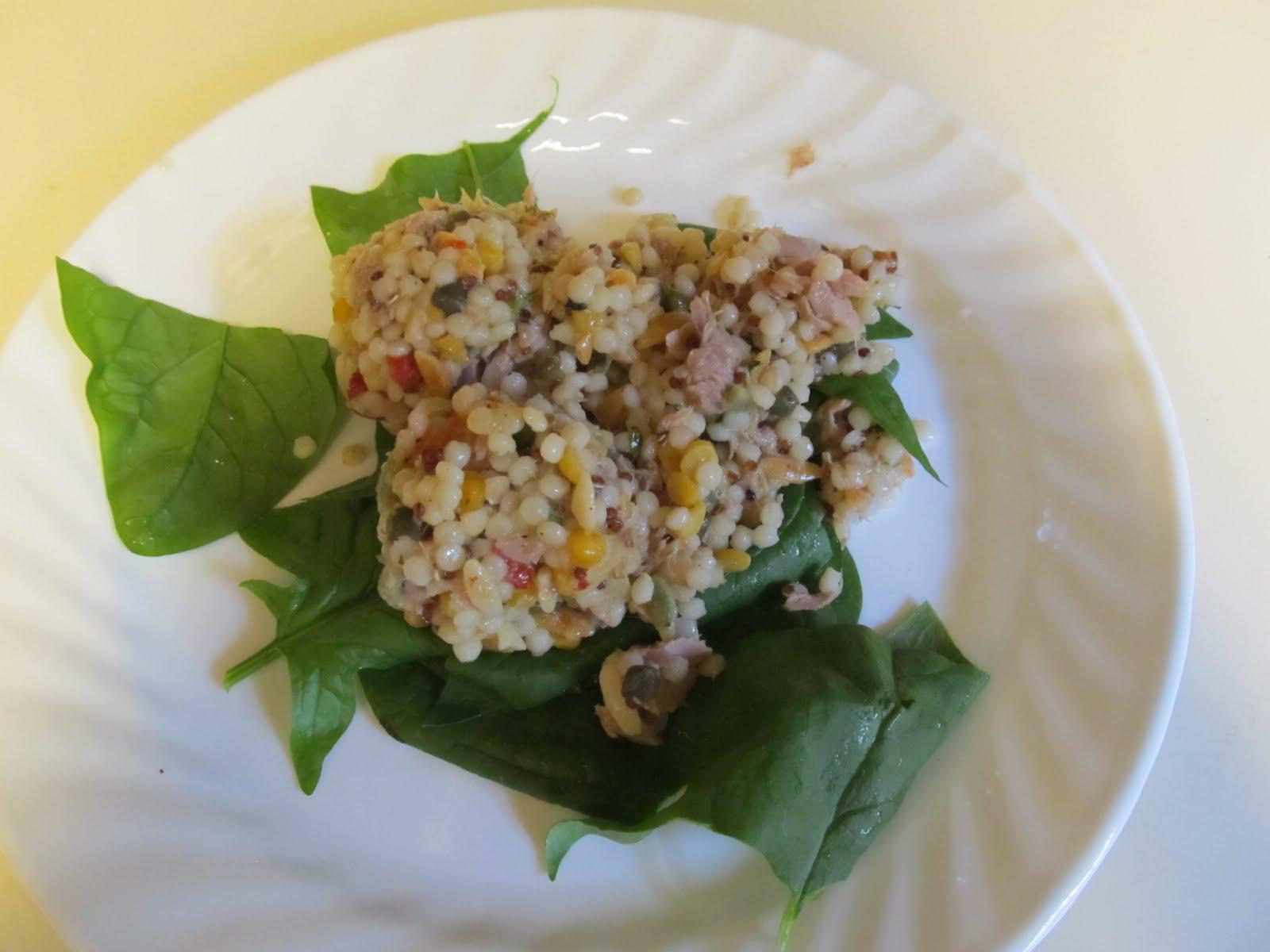 Download Mediterranean Tuna Quinoa Salad