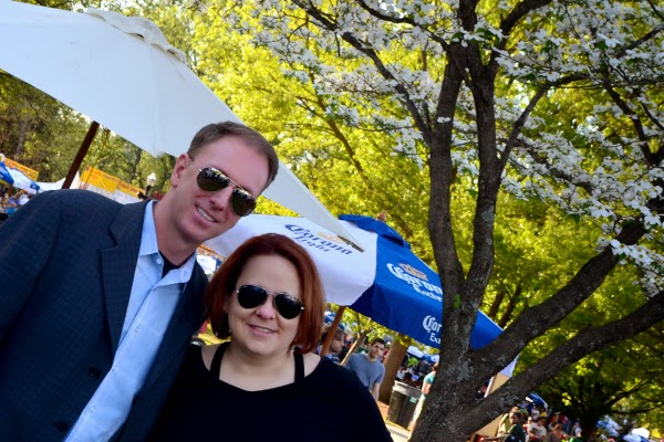 Atlanta Dogwood Festival, with MODA Exec Dir Laura Flusche