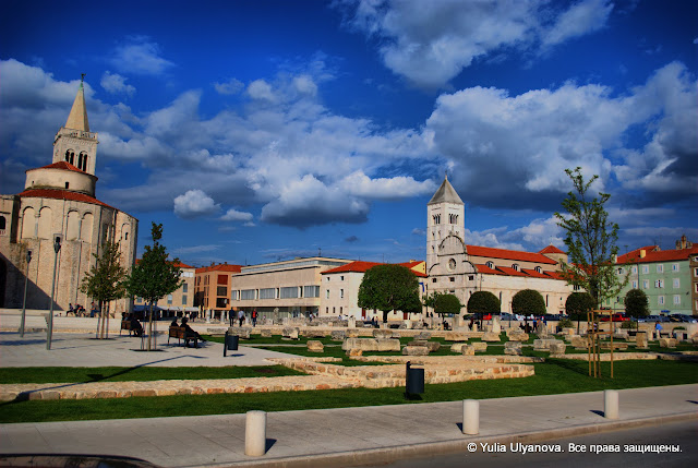 Старый город Задар