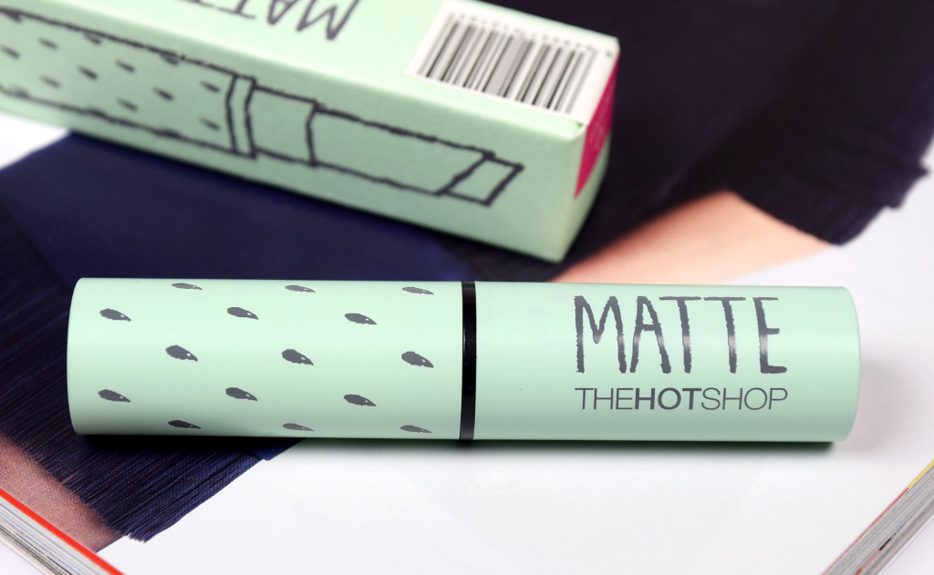 The Hot Shop Matte Lipstick Review