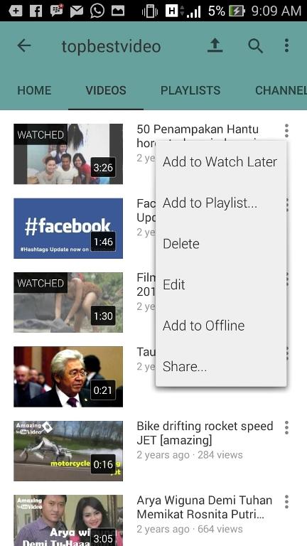Mudahnya Cara Memasukkan Video ke Youtube Lewat hp Android