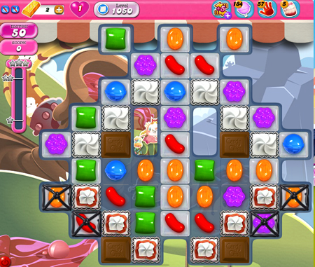 Candy Crush Saga 1050