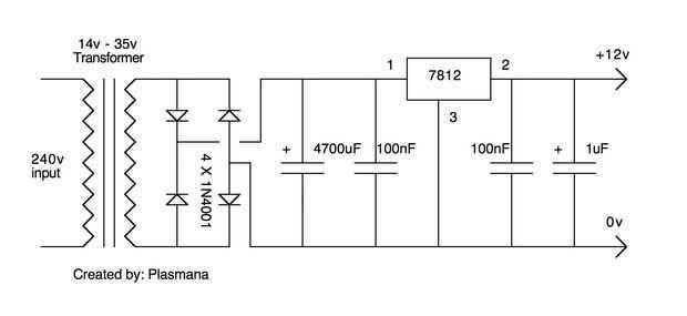 hobi oprek elektronika  cara membuat adaptor    power