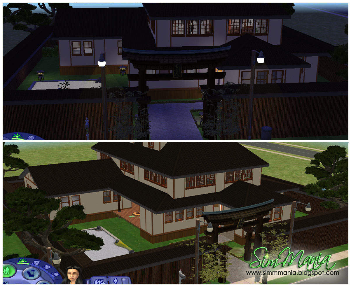 sim mania the sims 2 asian inspired house