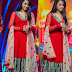 Trisha Red Anarkali Salwar