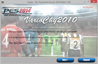 Download Patch 1.04 + Crack PES 2014