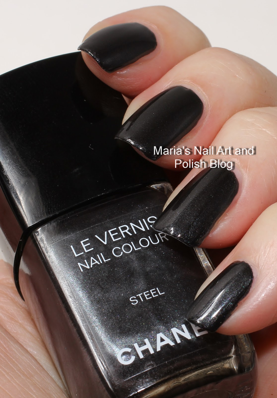 Marias Nail Art And Polish Blog Chanel Steel Soho Story Collection