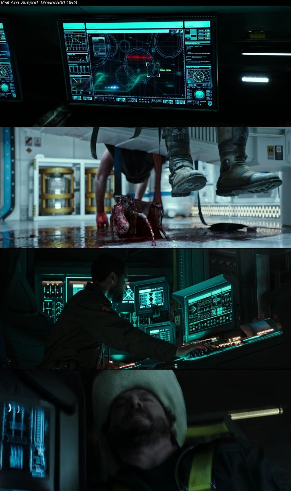 Alien Covenant 2017 Dual Audio ORG Hindi Download BluRay 720p at xcharge.net