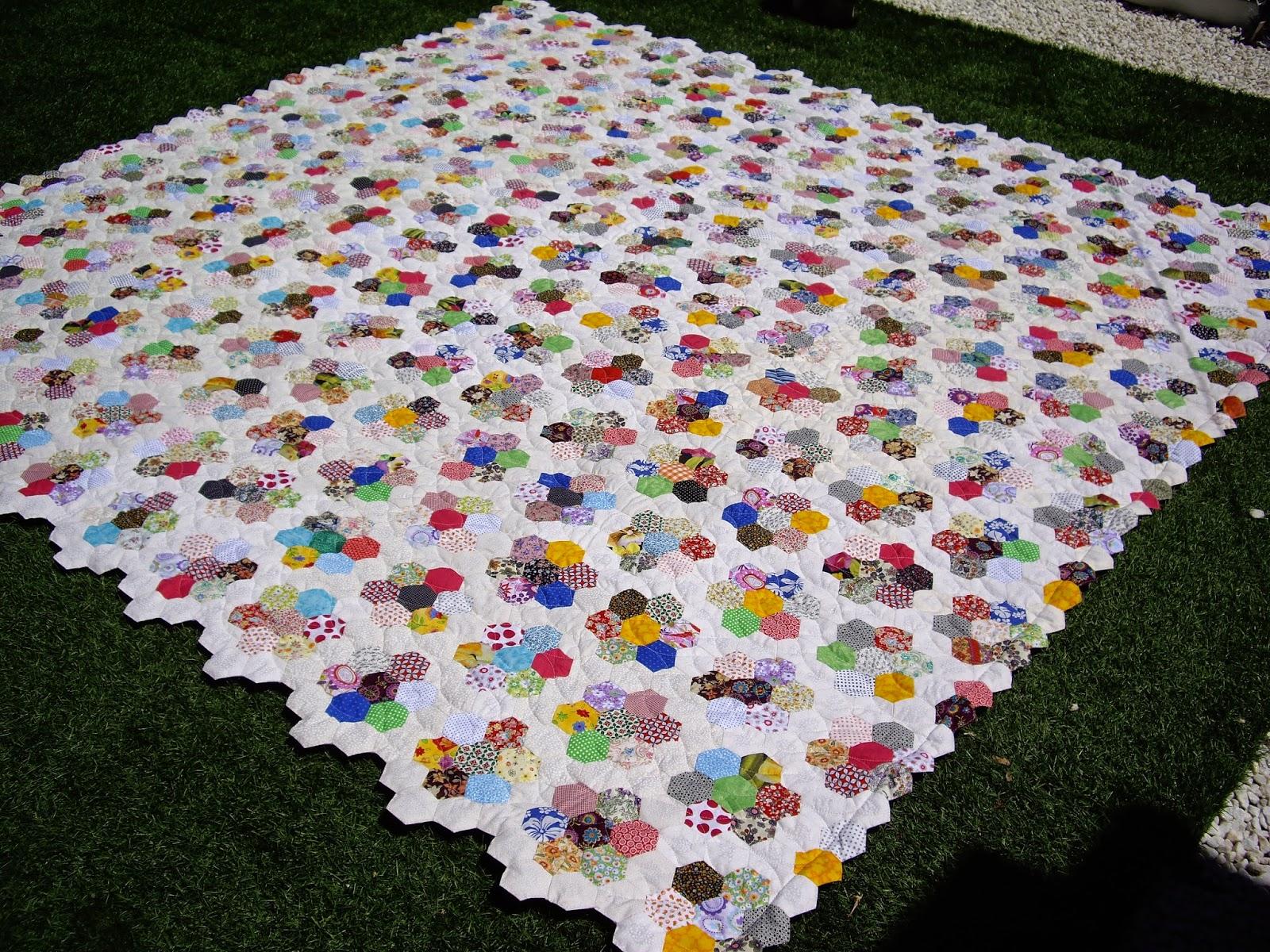 Lamoiss colcha de patchwork - Como hacer colchas de patchwork ...
