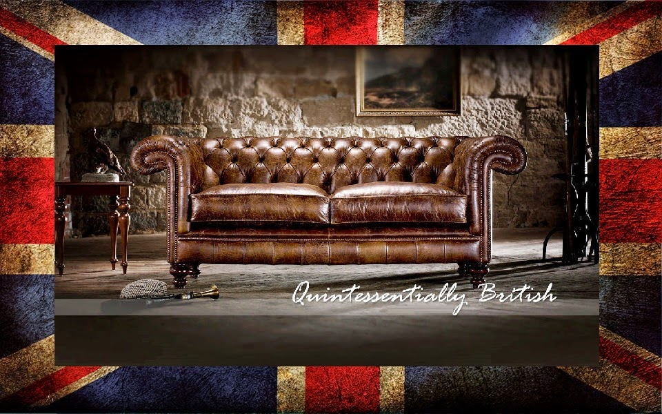 Divani chesterfield COLLINS & COOPER, originali inglesi ...