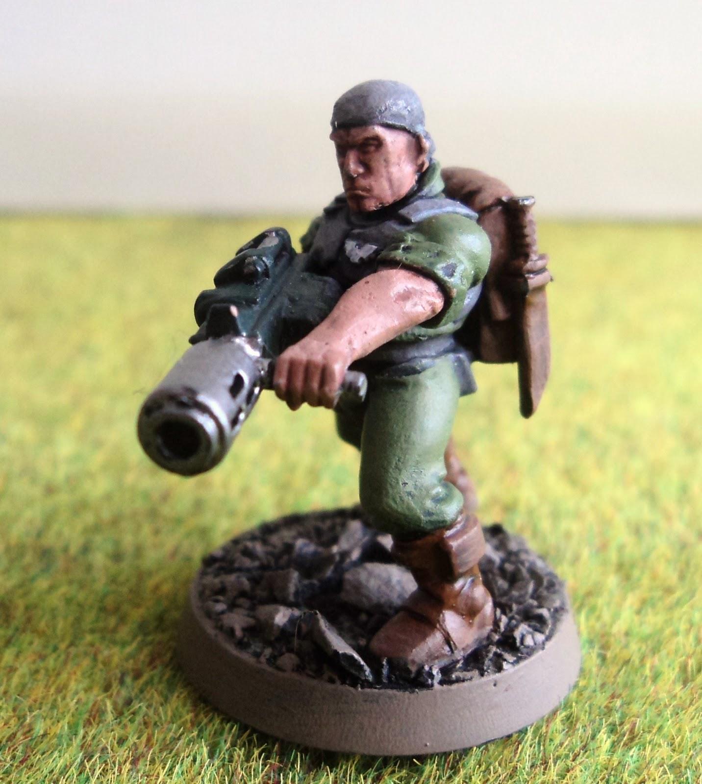 Imperial Guard Cadian Command Melta Gun Bits