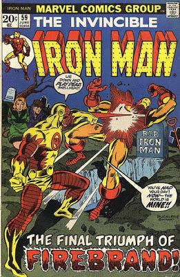 Iron Man #59, Fire-Brand