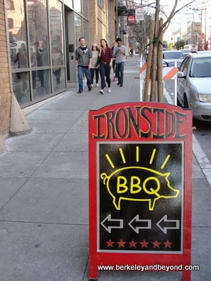sign for Ironside restaurant in San Francisco