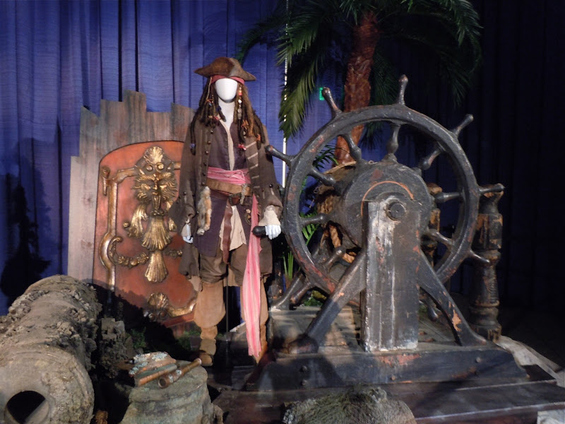 Jack Sparrow Pirates of the Caribbean 3 costume