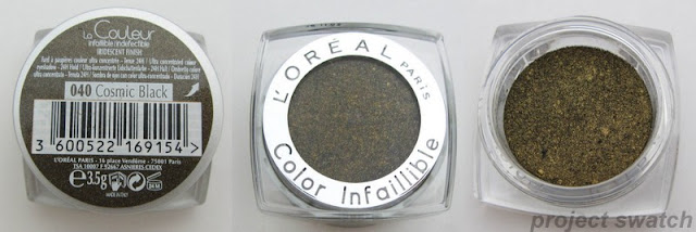 L'oreal Cosmic Black Infallible Eyeshadow