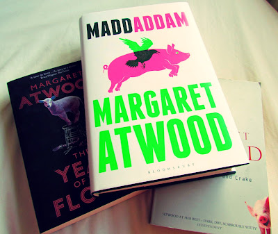 MaddAddam, Margaret Atwood, Year of the Flood, Oryx and Crake, publication, fiction, books, trilogy
