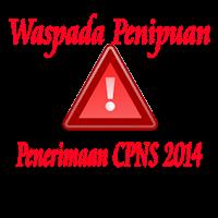 Contoh Surat Palsu Pengadaan CPNS Tahun 2014 s.d 2015