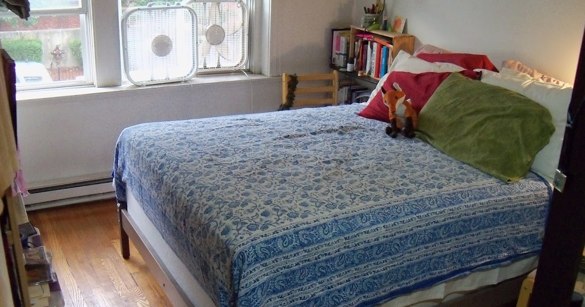 Full Bed Frame With Casters