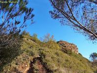 """Encarant el darrer tram abans d'arribar al cim. Autor: Francesc """"Caminaire"""""""