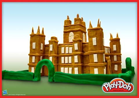 Play-Doh Downton Abbey