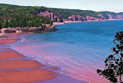 Baía de Fundy – Canadá