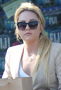 Amanda Bynes was spotted out and about in Los Angeles, California.
