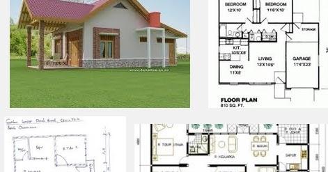denah rumah sederhana 3 kamar tidur: denah gambar rumah