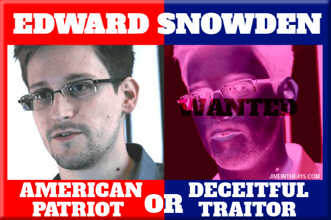 Is whistle-blower Edward Snowden a patriot or a traitor?