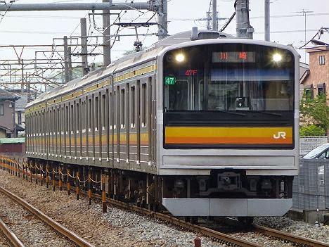 南武線 川崎行き 205系1200番台