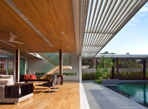 Outdoor Design And Garden - House With Garden Designed - Beautiful ...