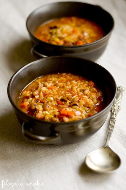 Zupa z fasolą i boczkiem przepis
