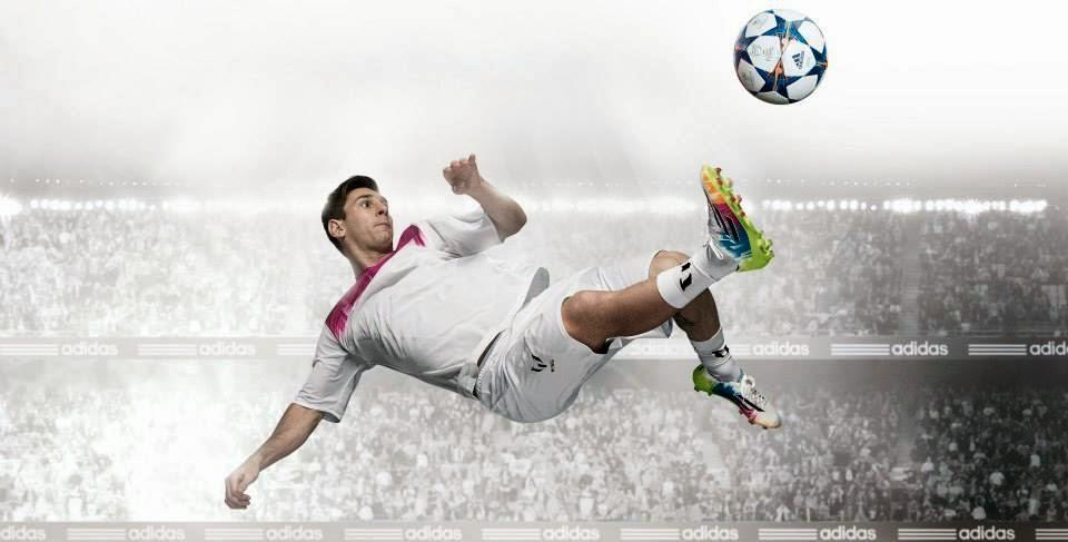 ¡Nuevos botines adidas adizero f50 Messi Samba!