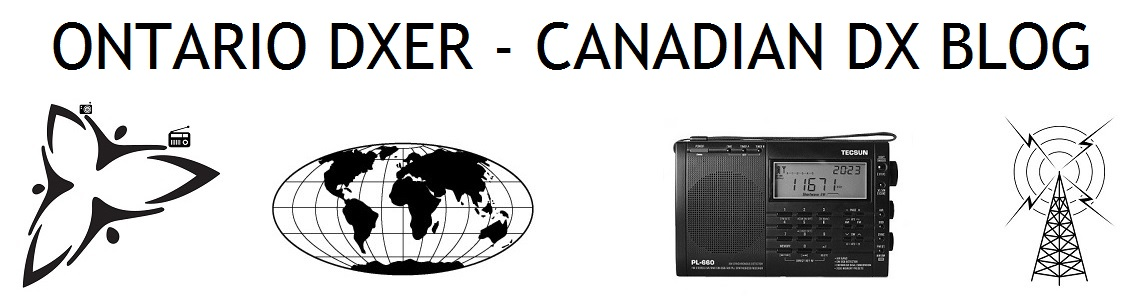Canadian DX Blog