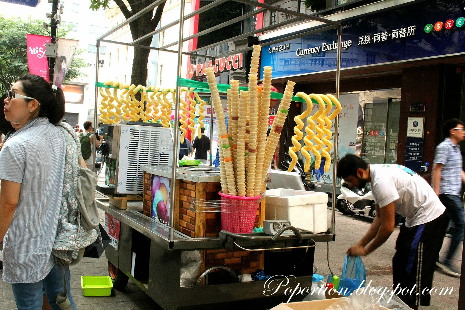 curly ice cream korea