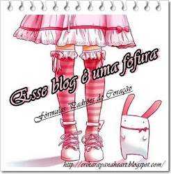 Selo este blog é uma fofura!